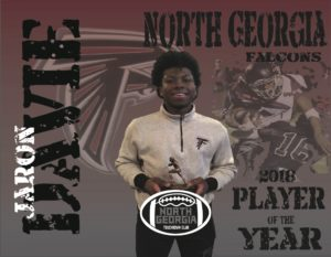 North Georgia Falcons -JaRon Davie